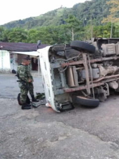 Accidente en Caquetá.