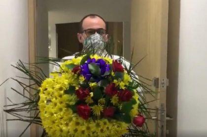 Identifican moto donde le llevaron corona fúnebre a médico Buelvas
