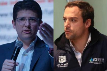 Miguel Uribe y Luis Ernesto Gómez