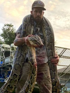 Esta fue la serpiente que mordió al cazador.