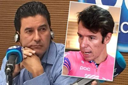Néstor Morales y Rigoberto Urán