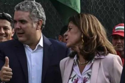 Iván Duque defiende a Marta Lucía Ramírez