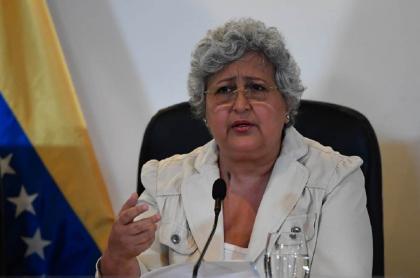 Tibisay Lucena, expresidenta del CNE venezolano