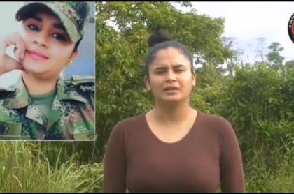 Prueba de supervivencia de cabo Nubia Alejandra López