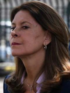 Periodista María Isabel Rueda / Vicepresidenta, Marta Lucía Ramírez