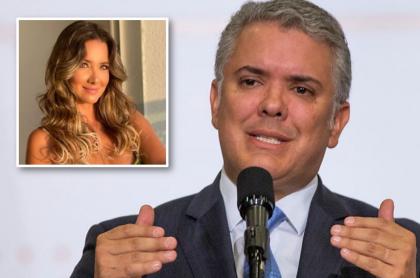 Iván Duque / Daniella Álvarez.