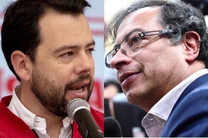 Carlos Fernando Galán y Gustavo Petro