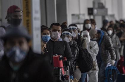 Coronavirus sigue entrando al país desde el exterior, en vuelos humanitarios
