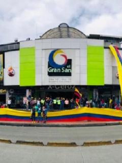 Plan piloto en centro comercial Gran San Victorino