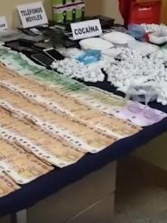 Cocaína incautada en España
