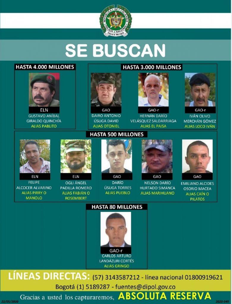 Twitter: @PoliciaUraba