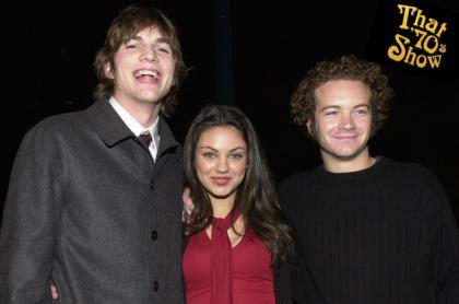 Ashton Kutcher, Mila Kunis y Danny Masterson