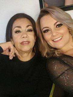 Fabiola Calle y Lina Barrientos, de Las hermanitas Calle