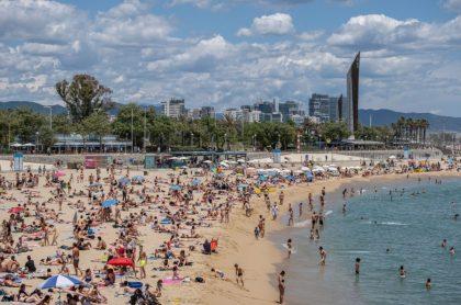 Playa barcelona desconfinamiento