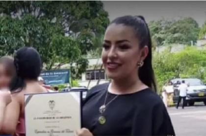 Acusan a expatrullero por crimen de Cindy Julieth Morales