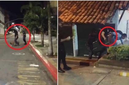 Habitantes de calles, agredidos en Floridablanca, Santander