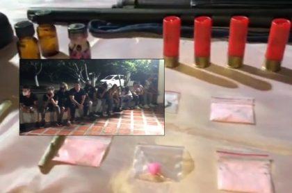 Destapan 'olla podrida' en operativo a fiesta ilegal en plena cuarentena.