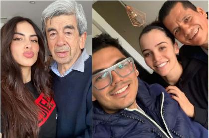 Jessica Cediel, Lina-Tejeiro y Luisa-Fernanda W en Día del padre