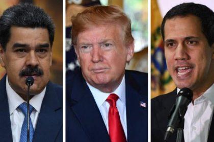 Nicolás Maduro/ Donald Trump/ Juan Guaidó