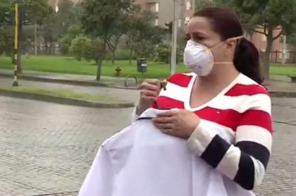Enfermera que denunció discriminación de policía en Bogotá
