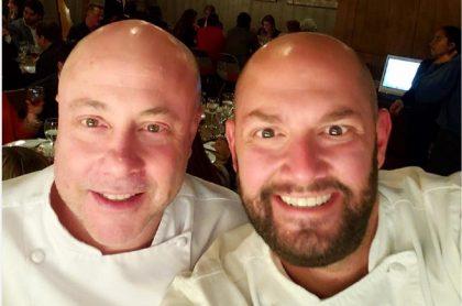 Jorge Rausch y Nicolás de Zubiría, jurados de 'Masterchef'.