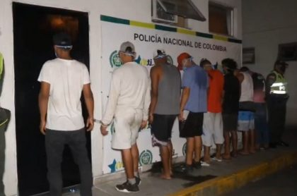 Captura de 8 venezolanos por secuestro en Cali