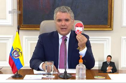 Duque y su campaña 'Colombia Arranca Seguro'
