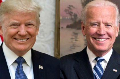 Trump pierde con Biden en las encuestas.