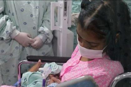 Mujer dio a luz en cuidados intensivos por coronavirus, en Cali