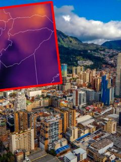 Mancha del Sahara llegaría a Bogotá