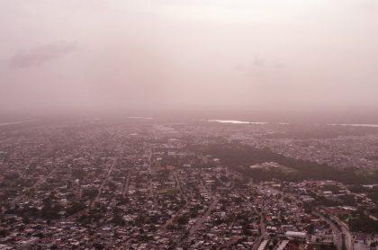 Polvo del Sahra afectaría a pacientes con enfermedades respiratorias.