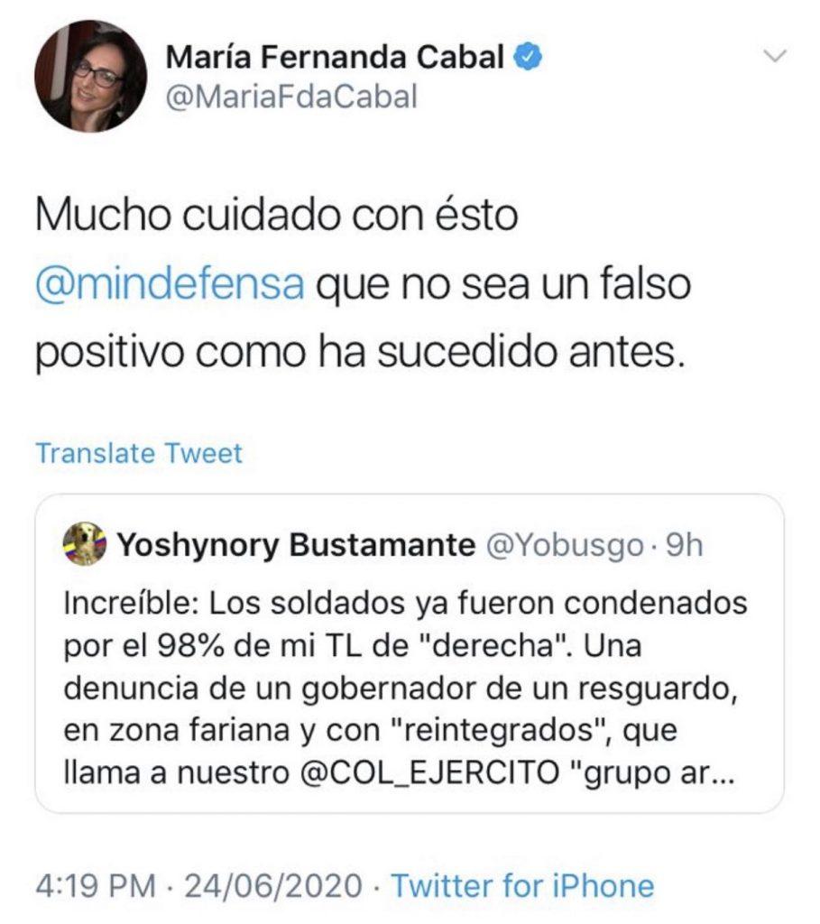 Twitter @MariaFdaCabal