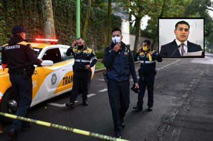 Atentado contra jefe de Seguridad de Ciudad de México Ómar García Harfuch