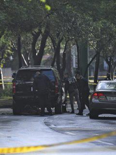 Fotos atentado a jefe de seguridad de Ciudad de México Ómar García