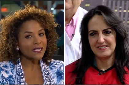Mábel Lara y María Fernanda Cabal