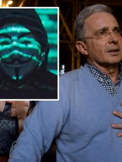 Álvaro Uribe y Anonymous