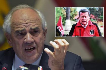 Samper habla de extradición de jefes del Eln