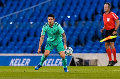 James Rodríguez, futbolista.