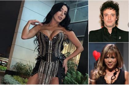 Marcela Reyes, DJ; Gustavo Cerati, músico; y Natalia París, modelo y DJ.