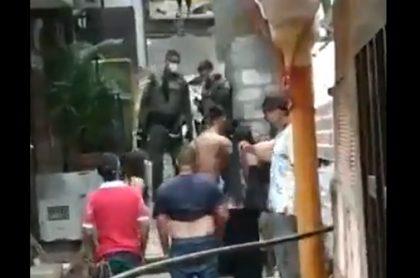 Policías-Itagui