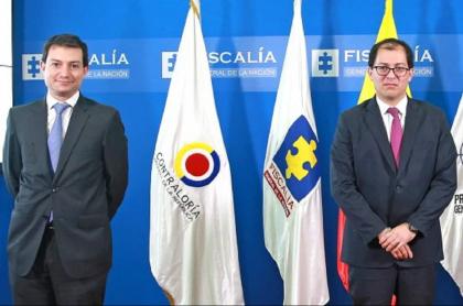 Francisco Barbosa y Carlos Córdoba