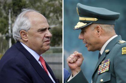Discusión Samper y Zapateiro por educación del Ejército