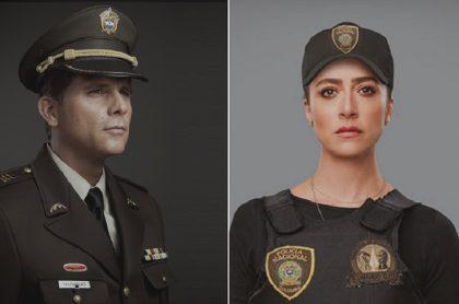 Christian Meier y Verónica Orozco, actores.