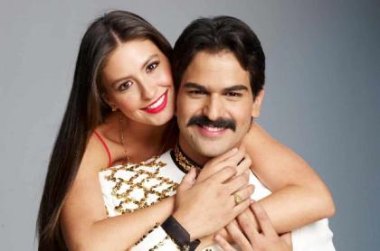 Alejandro Palacio y Taliana Vargas, actores.