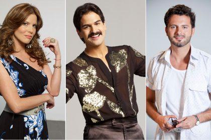 Sarah Mintz, Alejandro Palacio y Mario Espítia, actores.