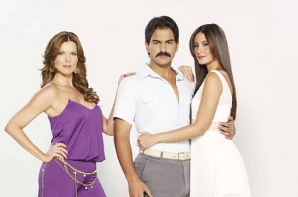 Sarah Mintz, Alejandro Palacio y Taliana Vargas, actores.
