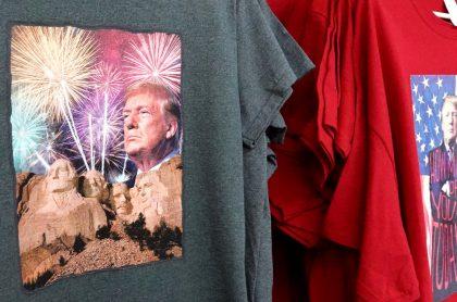 Trump en el monte Rushmore