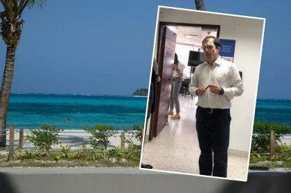 Isla de San Andrés y fiscal Francisco Barbosa