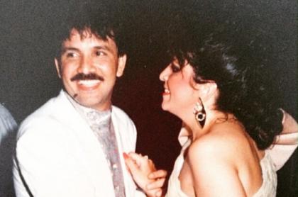 Rafael Orozco, cantante, y su esposa, Clara Cabello.