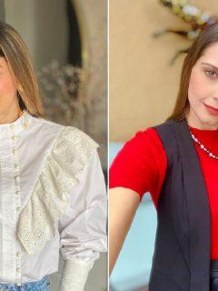 Catalina Gómez y Laura Acuña, presentadoras.